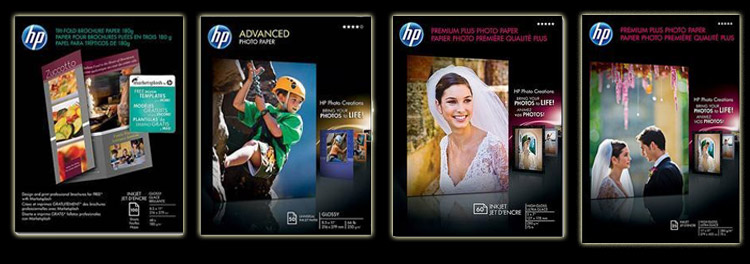 HP Brochure, Presentation and Photo Paper