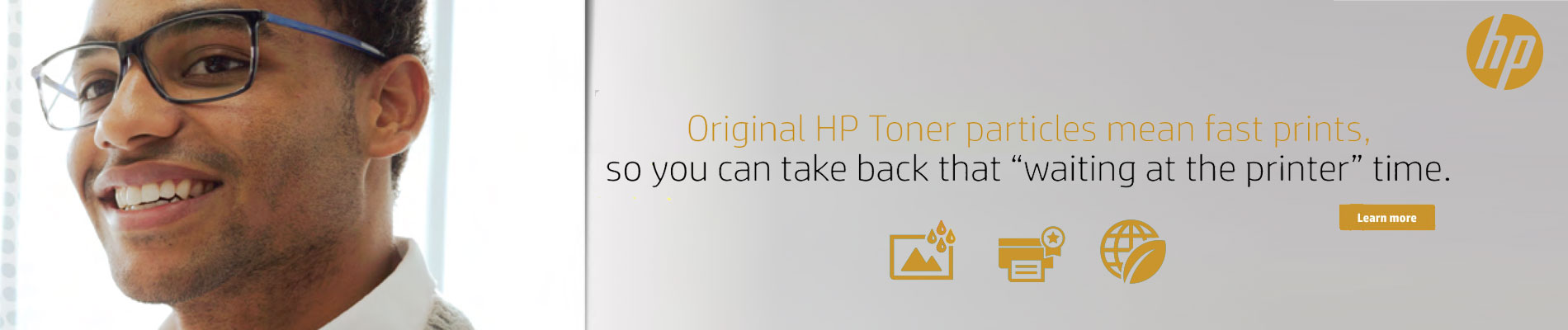 Original HP Toner Particles